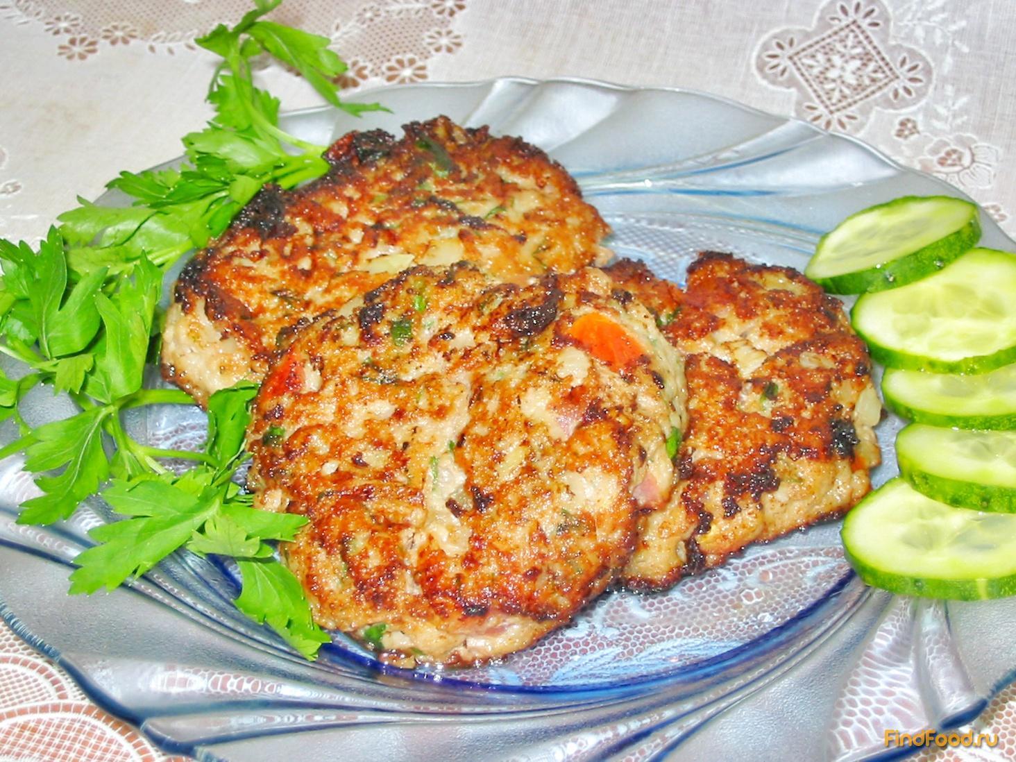 куриные котлеты с помидорами рецепт