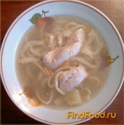 Суп куриный с лапшей в мультиварке