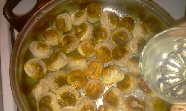 жареные пельмени рецепт с фото пошагово