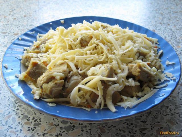 Лазанья с мясом и сыром рецепт с фото