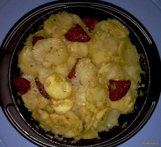 Запеченная картошка с колбасой в микроволновке рецепт с фото: http://findfood.ru/recept/kartoshka-s-kolbasoi-v-mikrovolnovke
