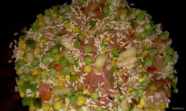гавайская смесь рецепты приготовления замороженная с курицей