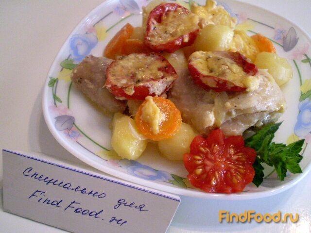 Куриные ножки с овощами рецепт с фото 8-го шага
