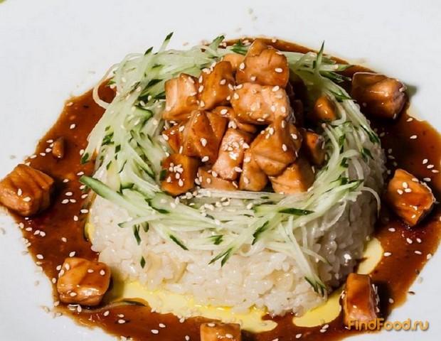 морепродукты с соусом терияки рецепт