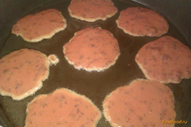Печеночные блинчики рецепт с фото 5-го шага