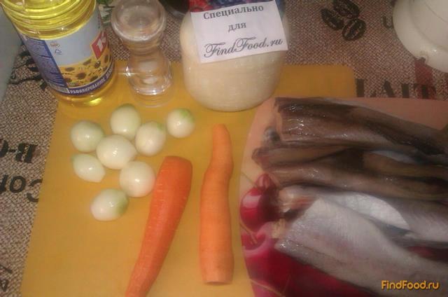 Белая рыба под овощами и сметаной рецепт с фото 1-го шага