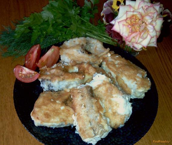 Жареная рыба с золотистой корочкой рецепт