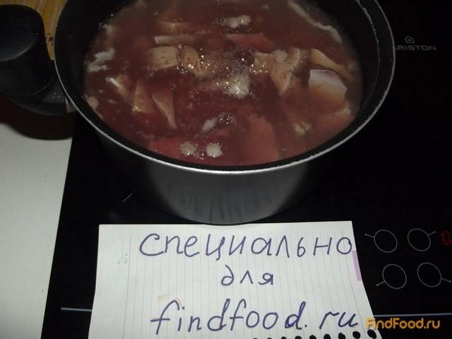 Свиная печень с гречкой рецепт с фото 4-го шага