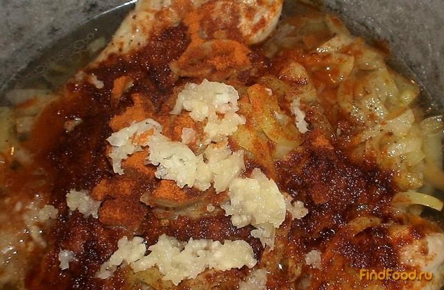 курица по венгерски рецепт