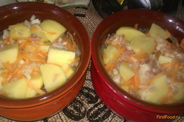 Картошка с тушенкой - пошаговый рецепт с фото на Повар