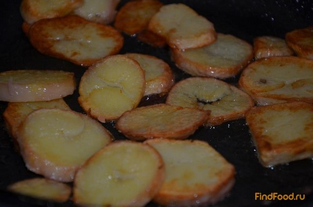 Картошка в мундирах жареная рецепт с фото 2-го шага