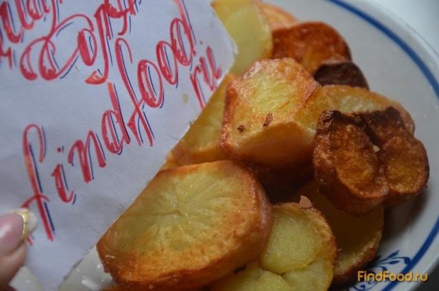 Картошка в мундирах жареная рецепт с фото 3-го шага