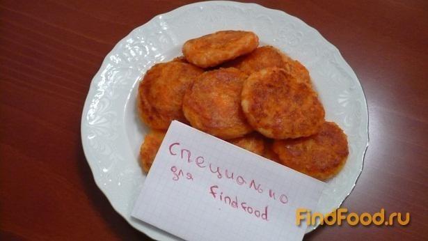 котлеты морковные с луком рецепт с фото