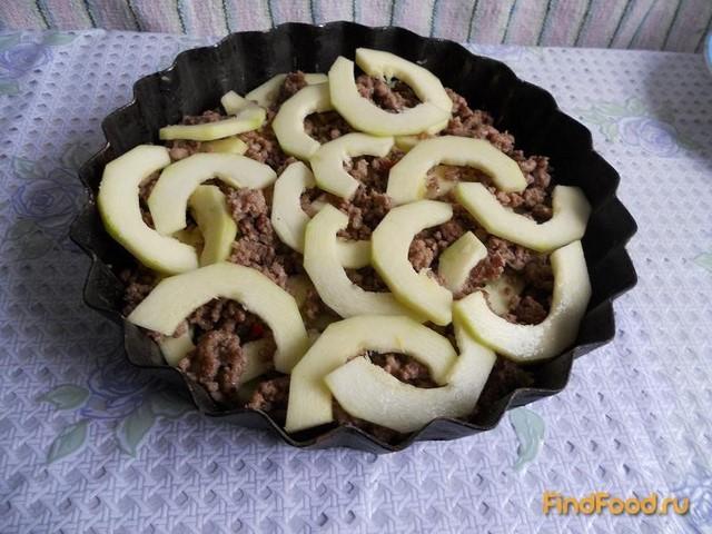 Овощи с фаршем запеченные в духовке рецепт с фото 6-го шага