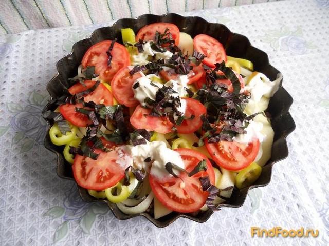 Овощи с фаршем запеченные в духовке рецепт с фото 9-го шага
