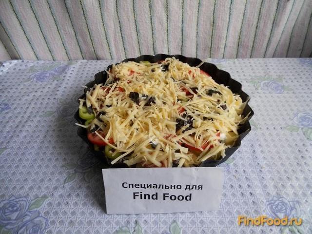рецепт приготовления овощей с фаршем