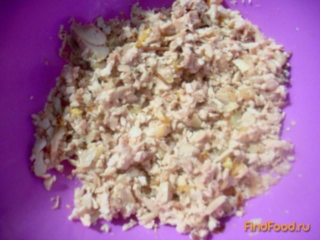 Картофельные зразы с куриным мясом рецепт с фото 3-го шага