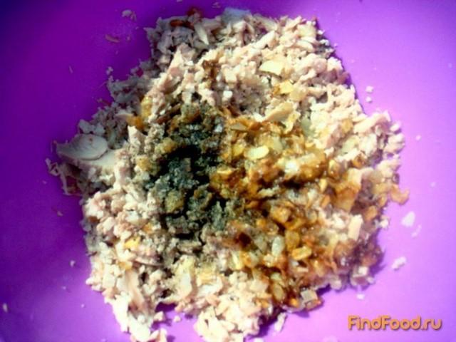 Картофельные зразы с куриным мясом рецепт с фото 4-го шага