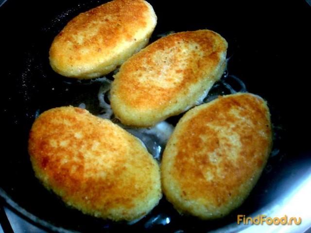 Картофельные зразы с куриным мясом рецепт с фото 13-го шага
