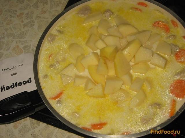 Соус из мяса и картошки рецепт с пошагово