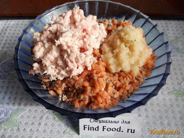 рецепт котлет из горбуши с салом