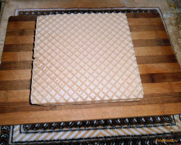 Рецепт вафельные коржи с фаршем в кляре