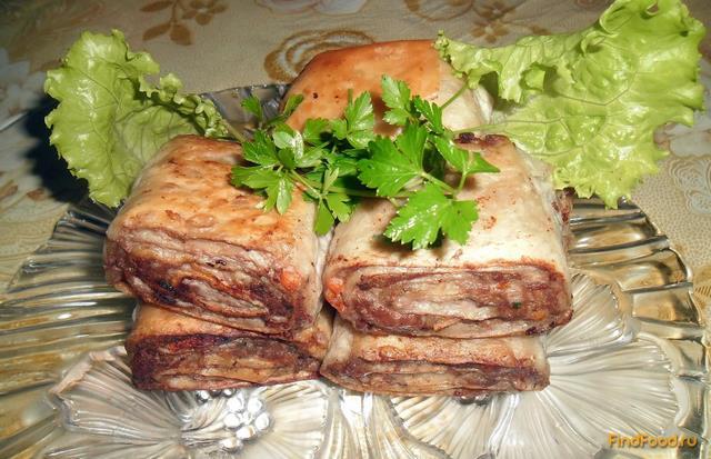 фото и рецепты мясных рулетов в тесте