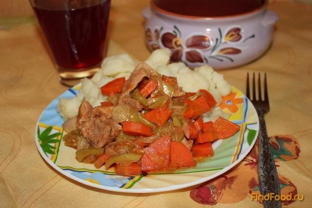 Капуста цветная тушеная рецепты приготовления с фото
