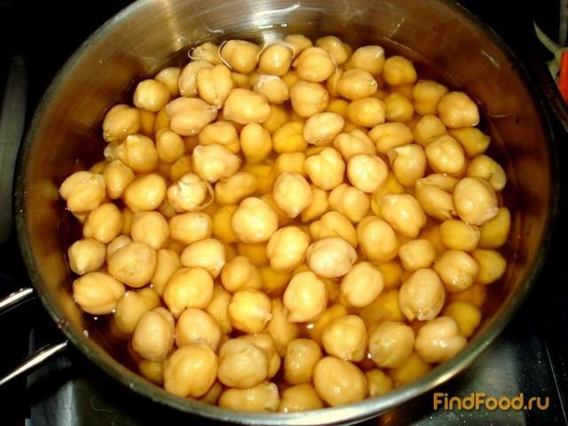 Рецепт из нута и грибами