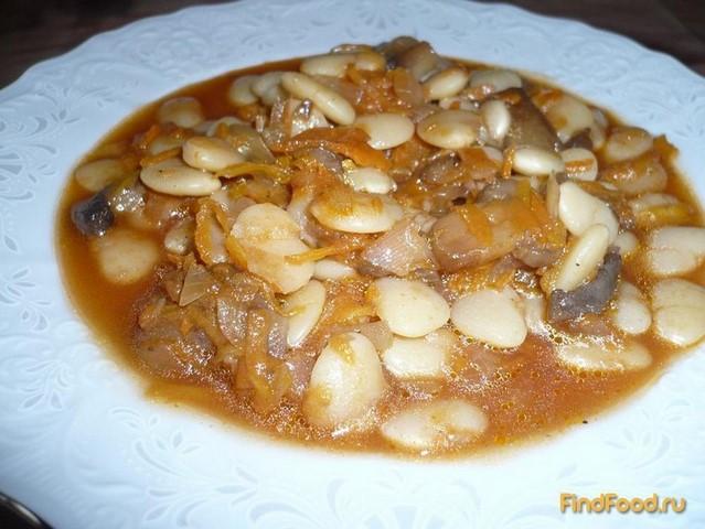 рецепт приготовления фасоли с мясом и овощами