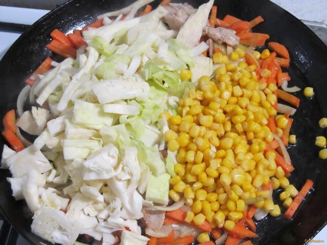Плов с овощами и мясом рецепт пошагово