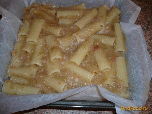 Рецепт запеканки из макарон с яблоками