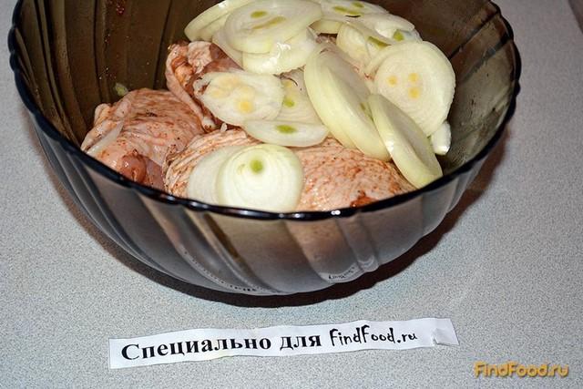 Куриные бедра с яблоком в рукаве рецепт с фото 4-го шага