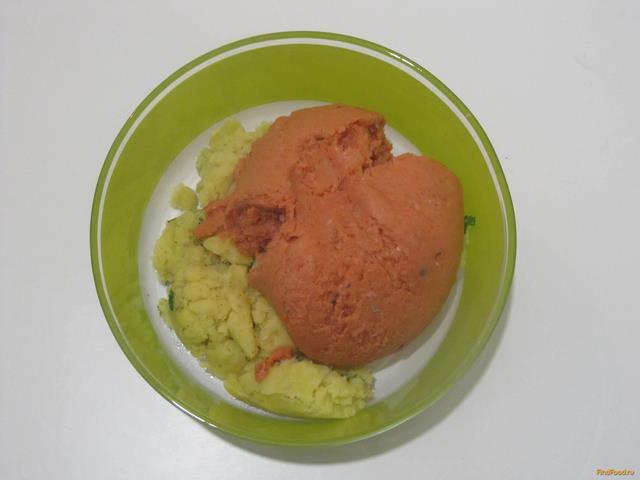 Рецепт картофельное пюре и фарш котлеты