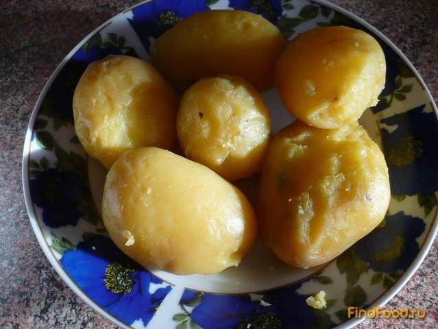 Постные картофельные котлеты рецепт с фото 3-го шага