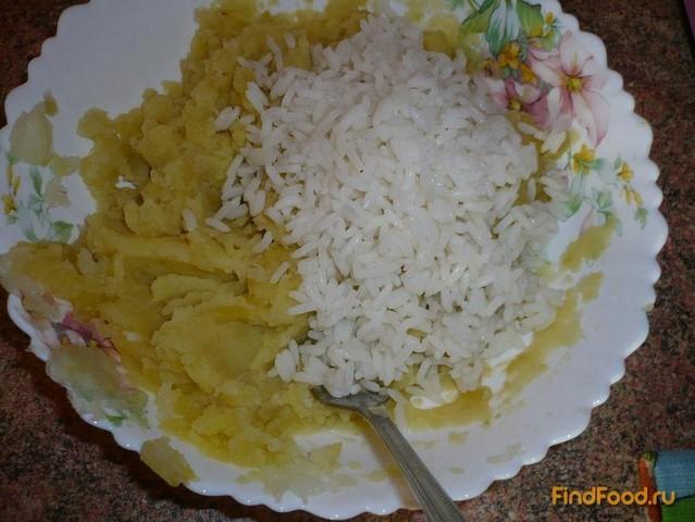 Постные картофельные котлеты рецепт с фото 6-го шага