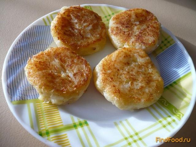 рецепты картофельные котлеты постные рецепт