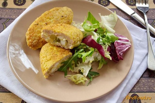 рецепт котлет с начинкой из яйца