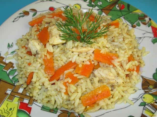 Рецепт Туркменский плов с курицей рецепт с фото