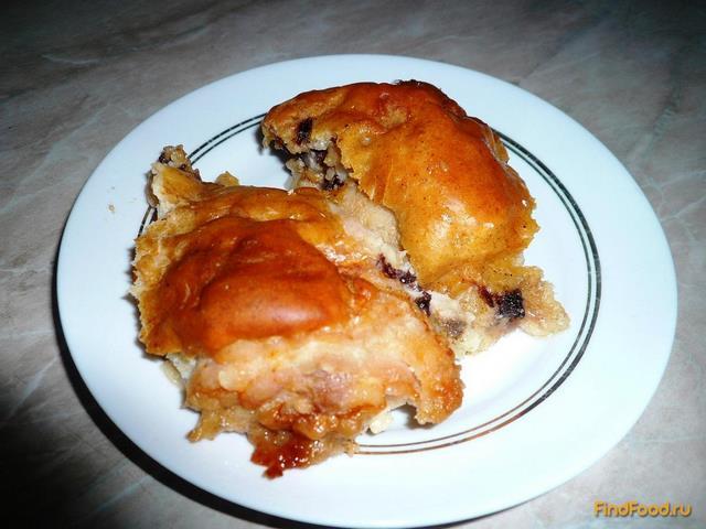 Рецепт Куриные бедрышки в тесте рецепт с фото