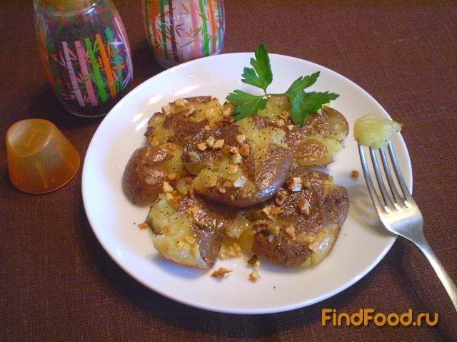 Рецепт Картофельные лепешки с чесноком рецепт с фото