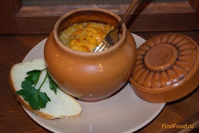Рецепт Тушеная курица с овощами в горшочках рецепт с фото