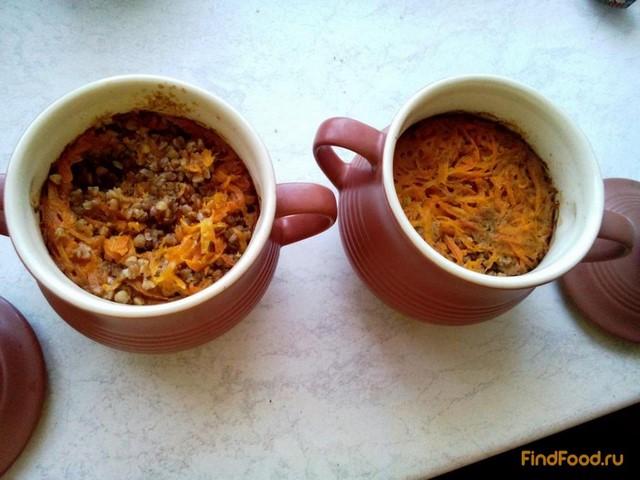 Рецепт Гречка с чечевицей в горшочке рецепт с фото