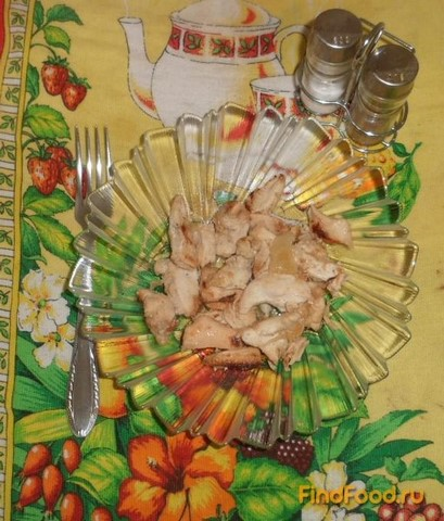 Рецепт Гуляш из куриного филе рецепт с фото