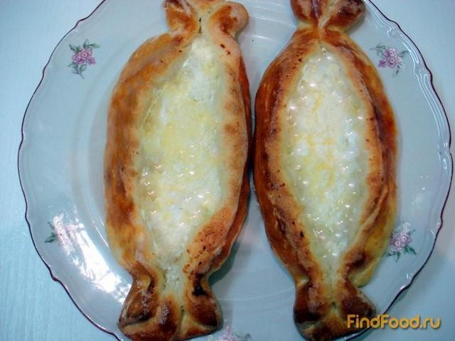 Рецепт Грузинские хачапури по-аджарски рецепт с фото