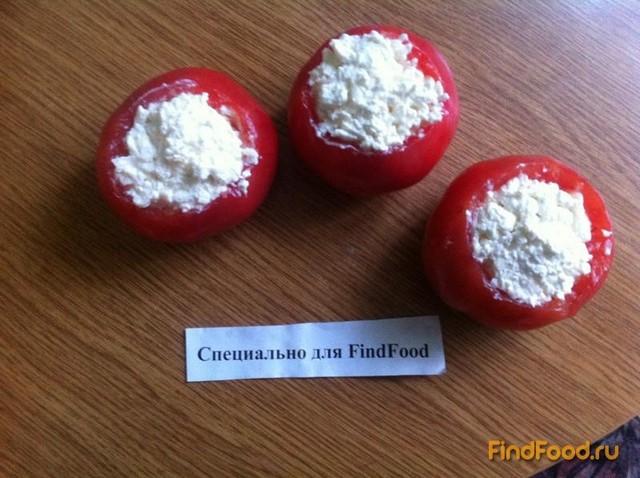 Рецепт Запеченные помидоры с творогом рецепт с фото