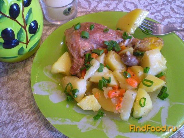 Рецепт Утка с овощами рецепт с фото