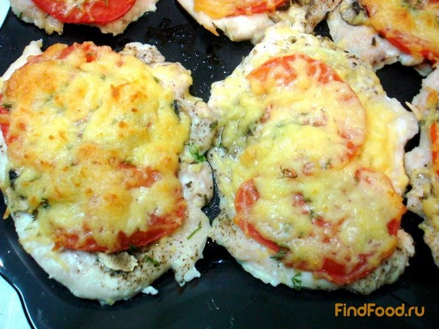 Рецепт Отбивные с помидорами рецепт с фото