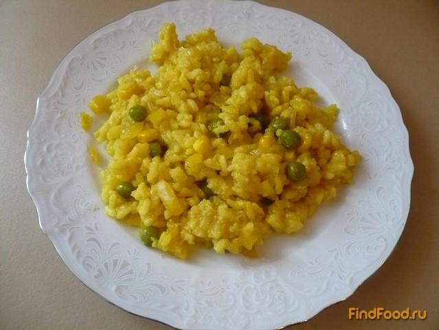 рис в мультиварке с кукурузой и горошком