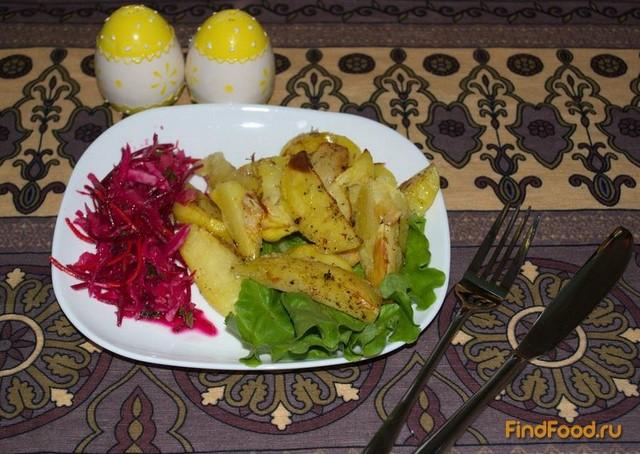 Рецепт Запеченый молодой картофель в белке рецепт с фото